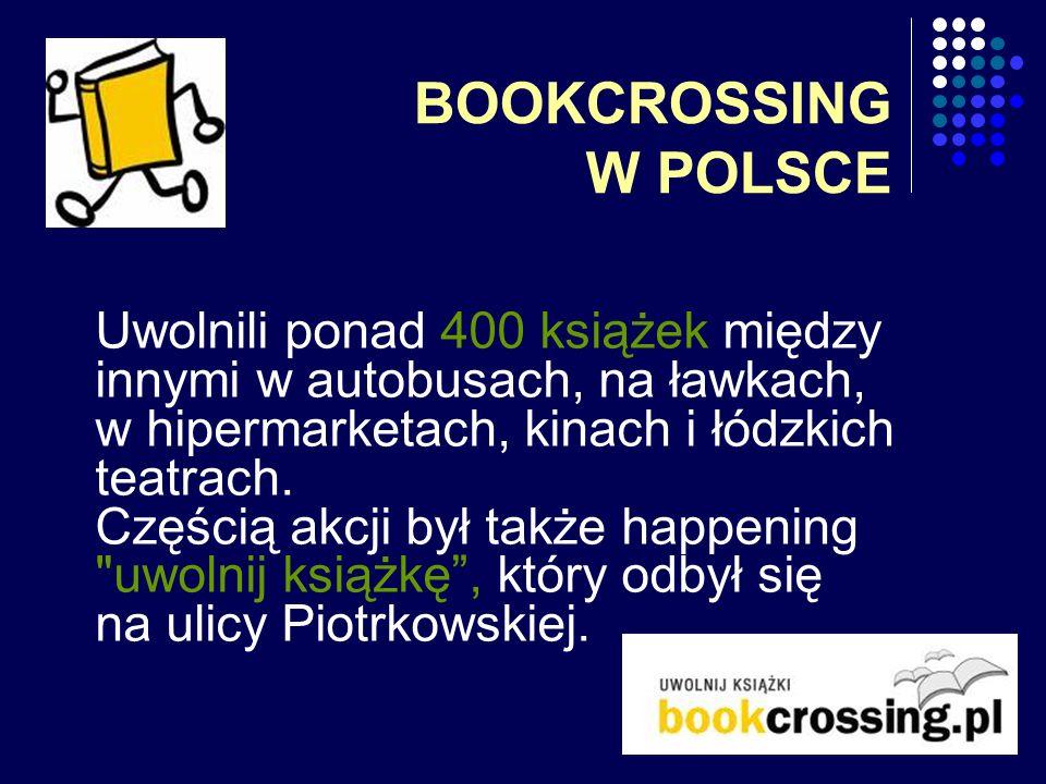 BOOKCROSSING W POLSCE