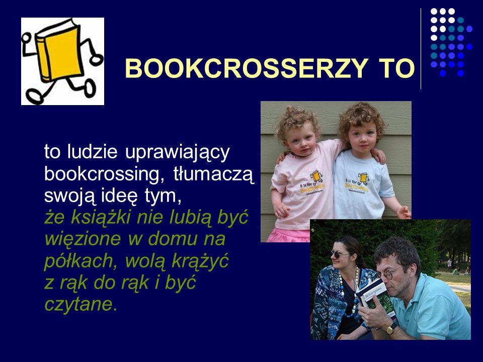 BOOKCROSSERZY TO