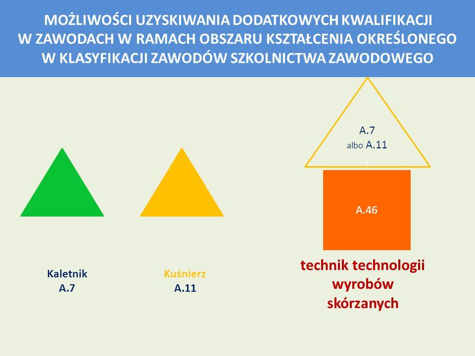 technik technologii wyrobów skórzanych
