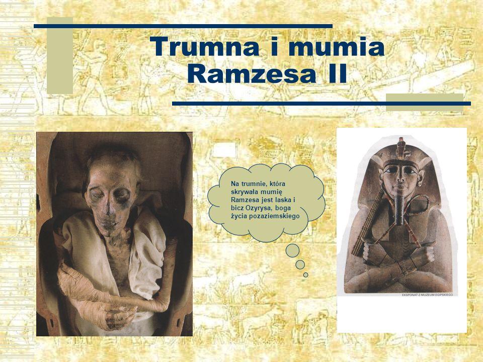 Trumna i mumia Ramzesa II