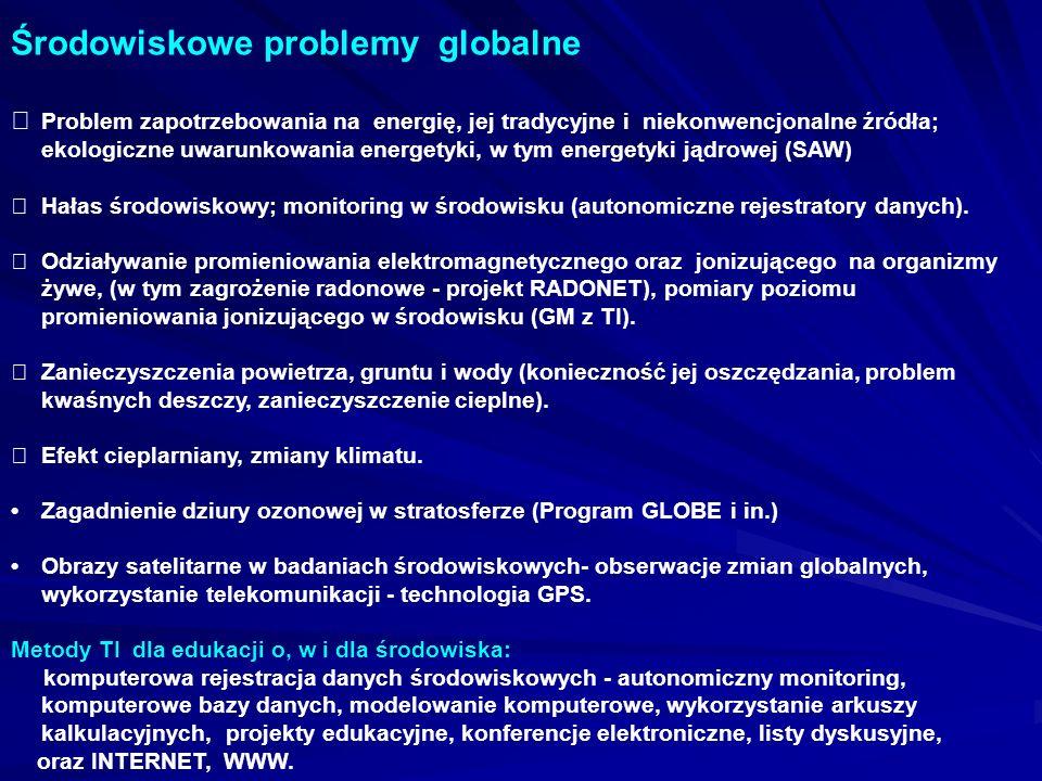 Środowiskowe problemy globalne