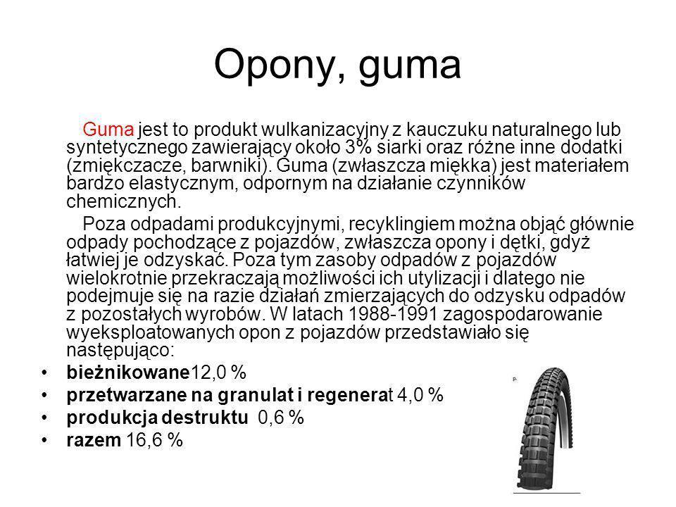 Opony, guma