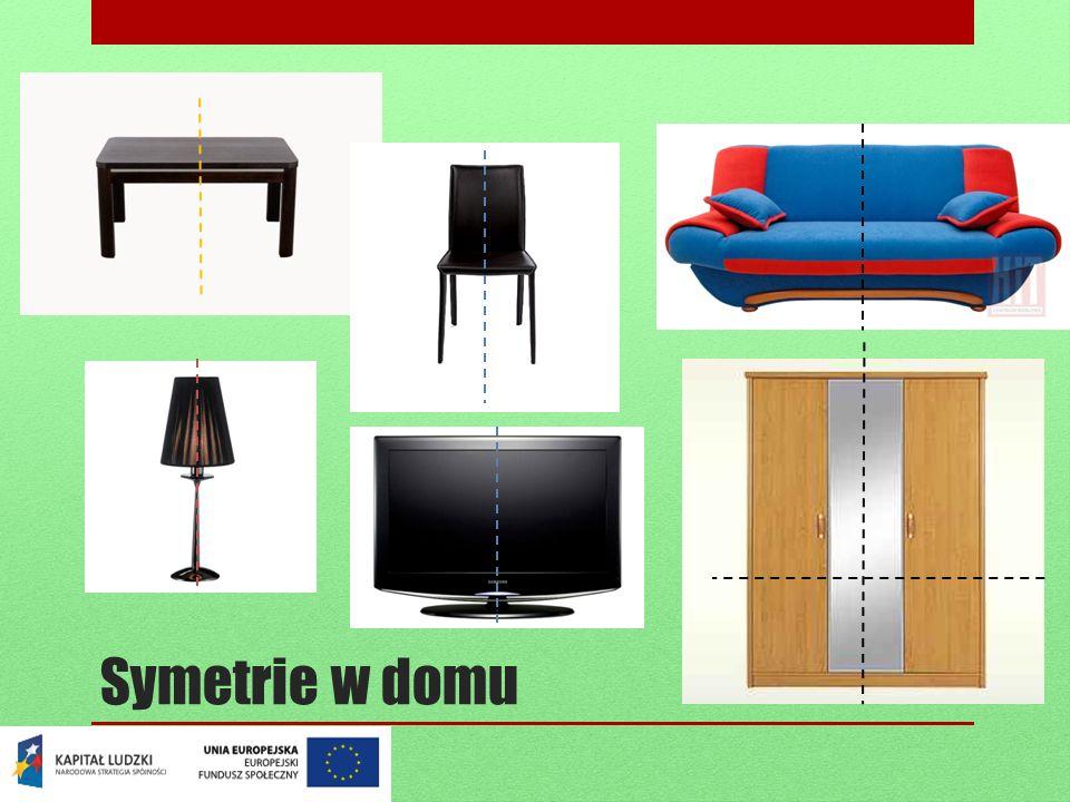 Symetrie w domu