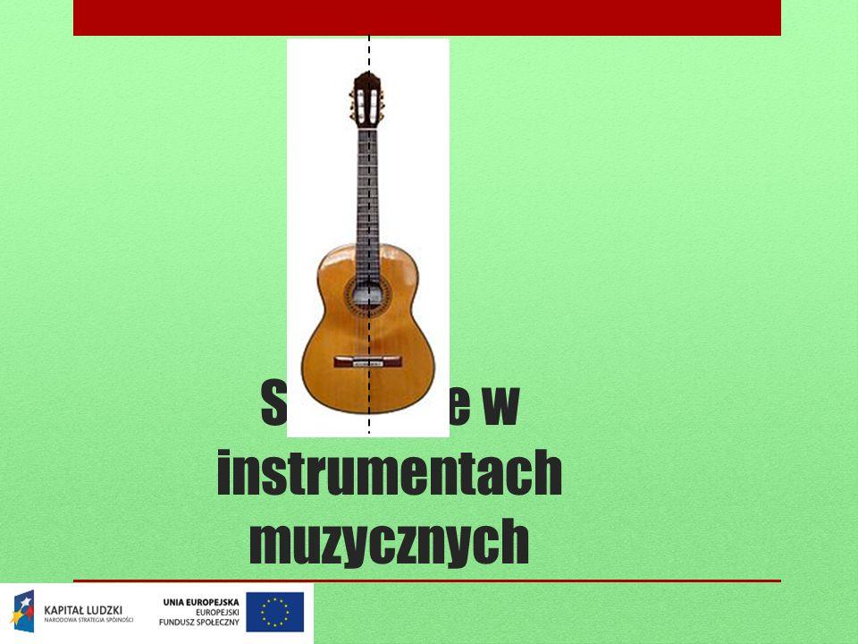 Symetrie w instrumentach muzycznych