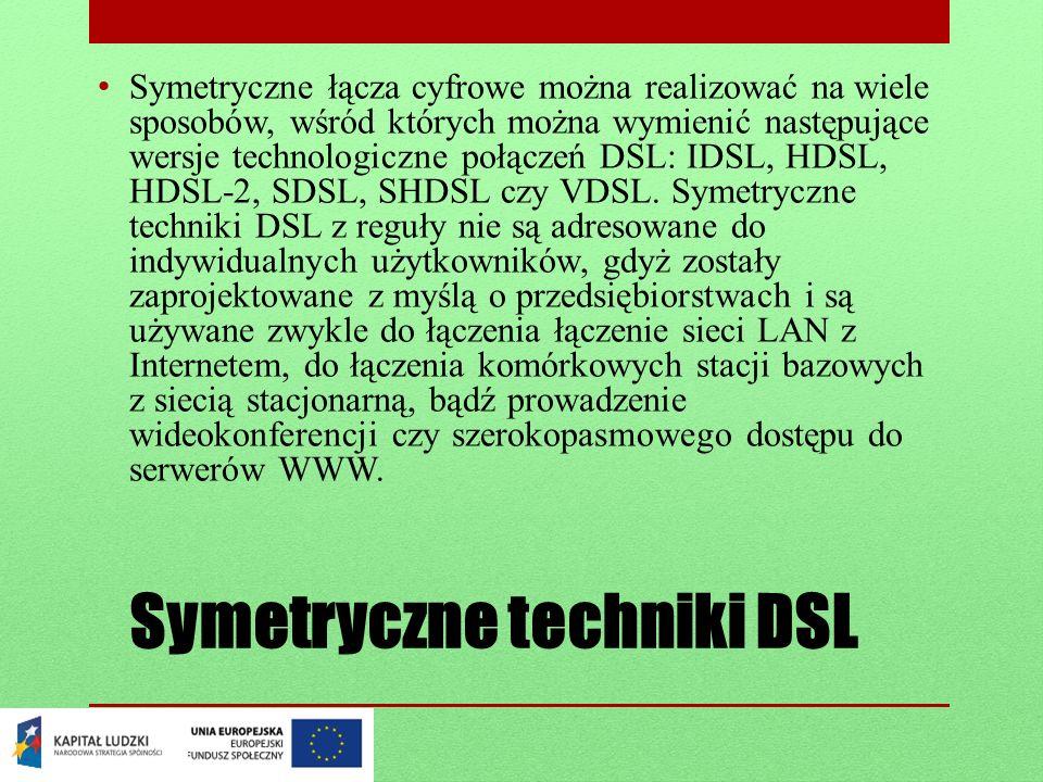 Symetryczne techniki DSL