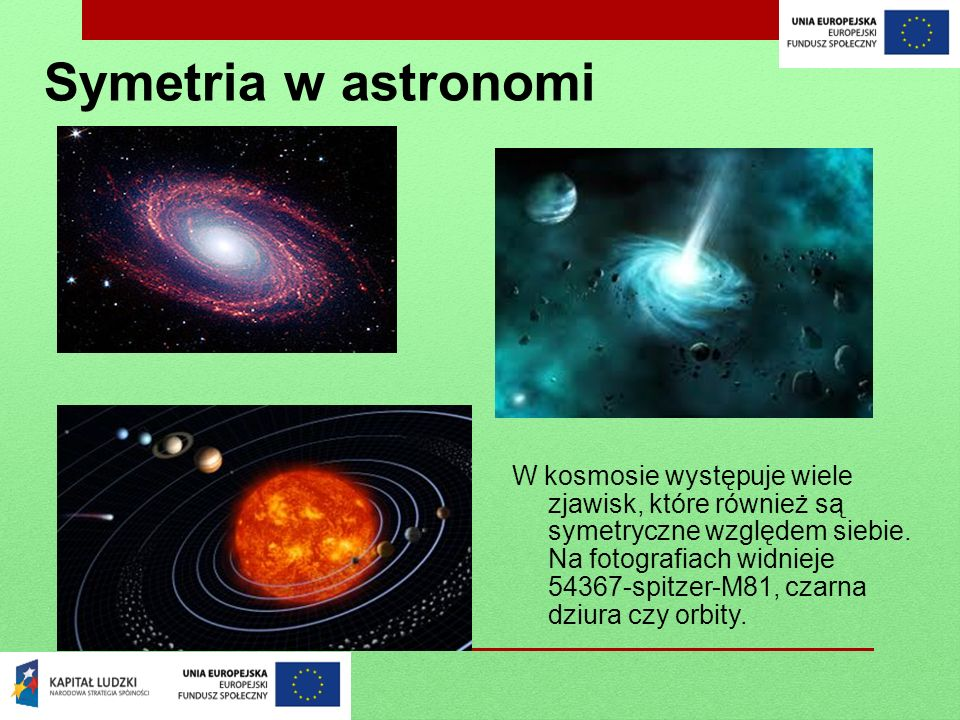 Symetria w astronomi
