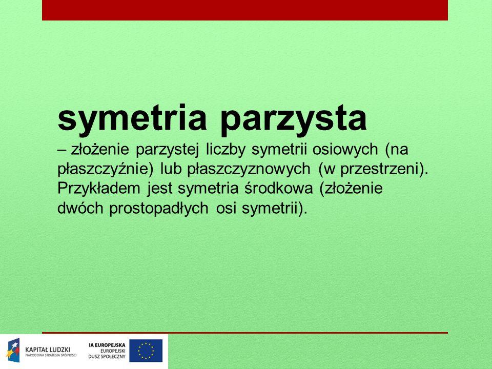 symetria parzysta