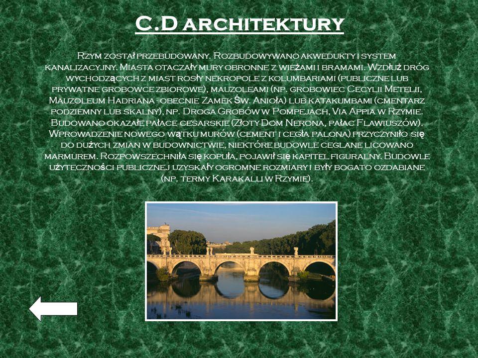 C.D architektury
