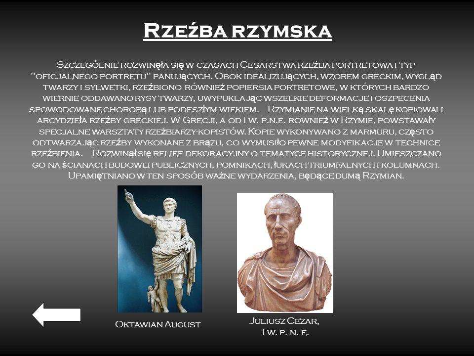 Rzeźba rzymska