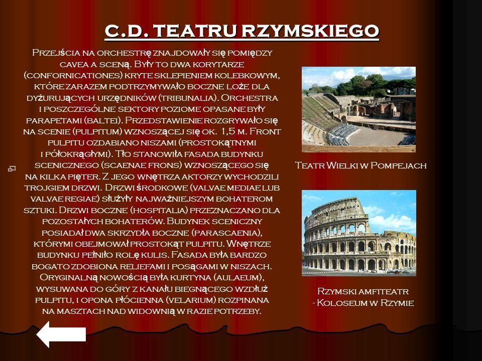 c.d. teatru rzymskiego