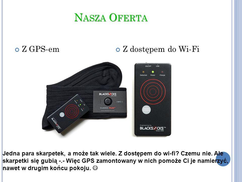 Nasza Oferta Z GPS-em Z dostępem do Wi-Fi