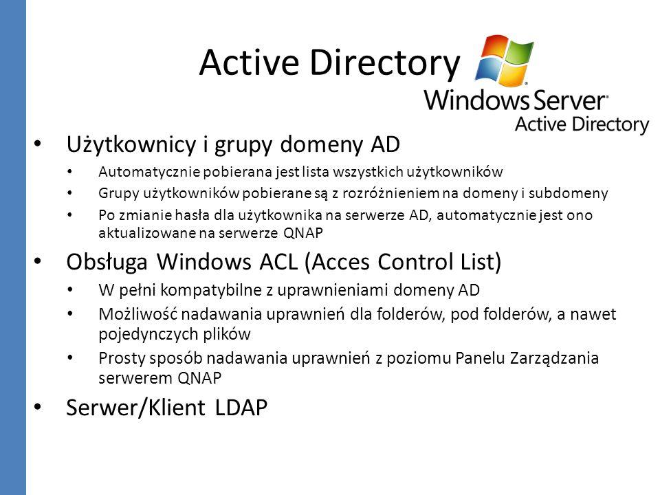 Active Directory Użytkownicy i grupy domeny AD