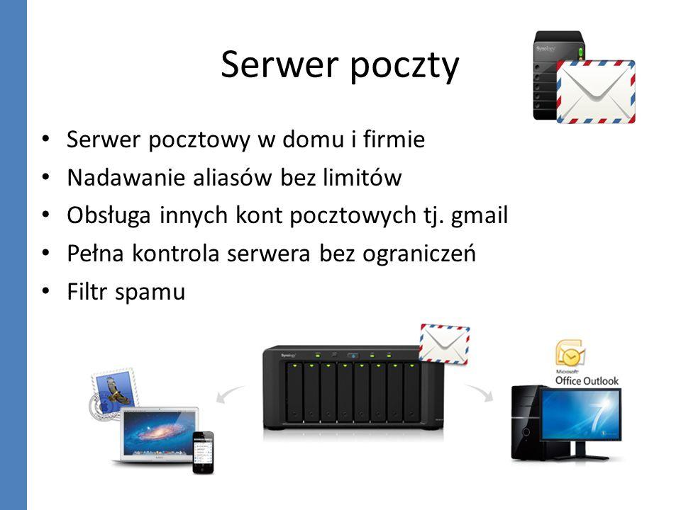 Serwer poczty Serwer pocztowy w domu i firmie