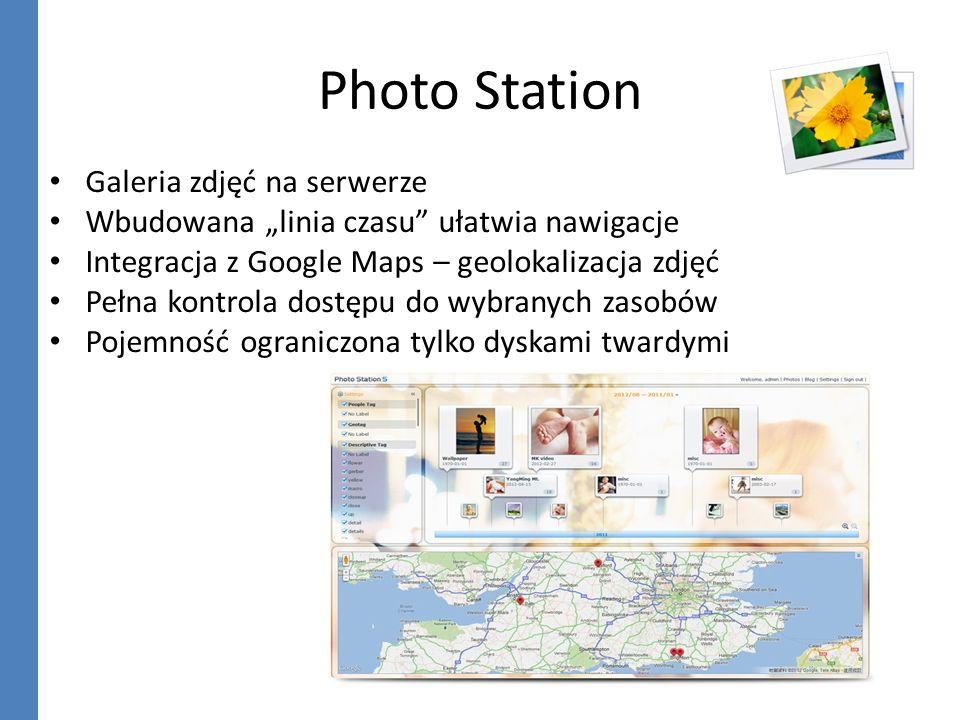 Photo Station Galeria zdjęć na serwerze