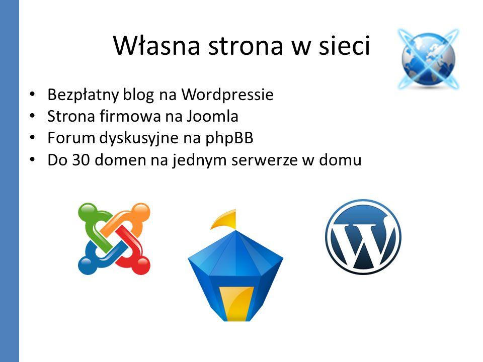 Własna strona w sieci Bezpłatny blog na Wordpressie