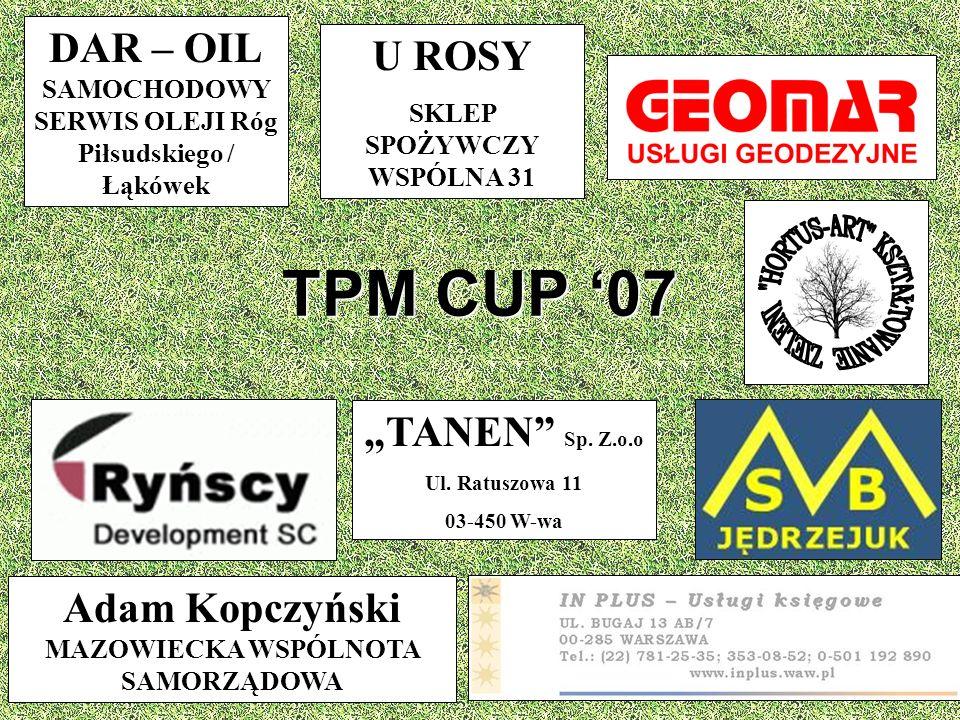 TPM CUP '07 HORTUS-ART KSZTAŁTOWANIE ZIELENI