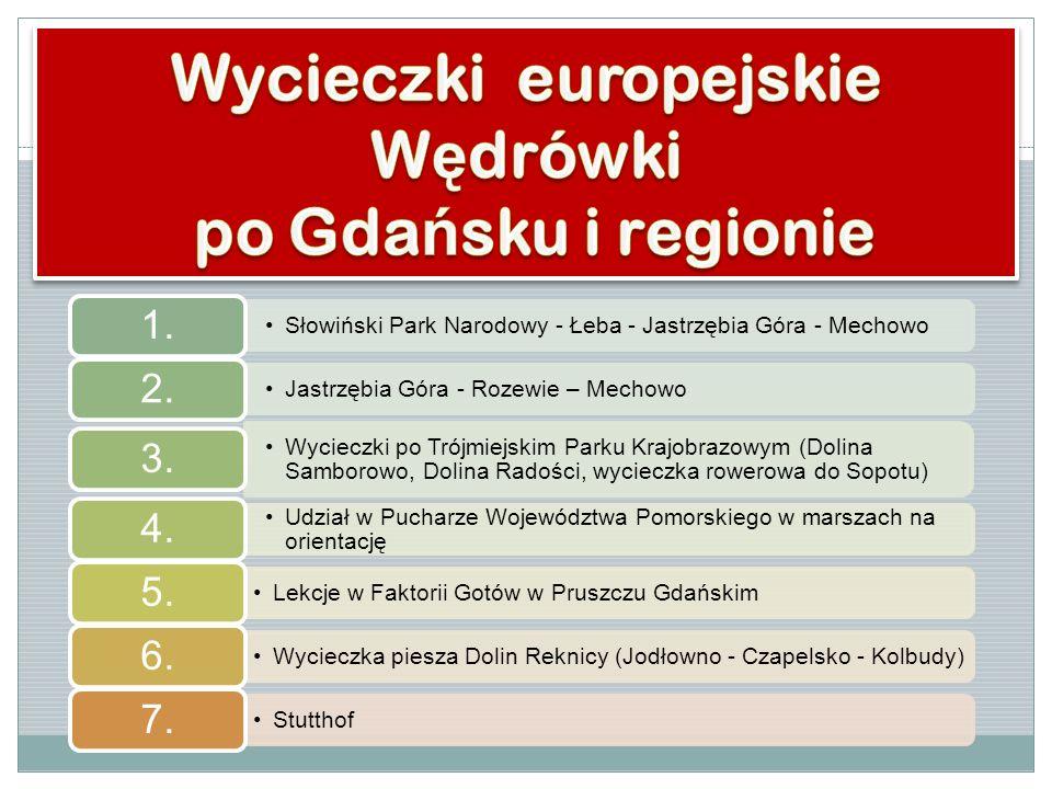 Wycieczki europejskie Wędrówki po Gdańsku i regionie