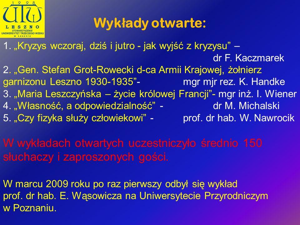 Wykłady otwarte: