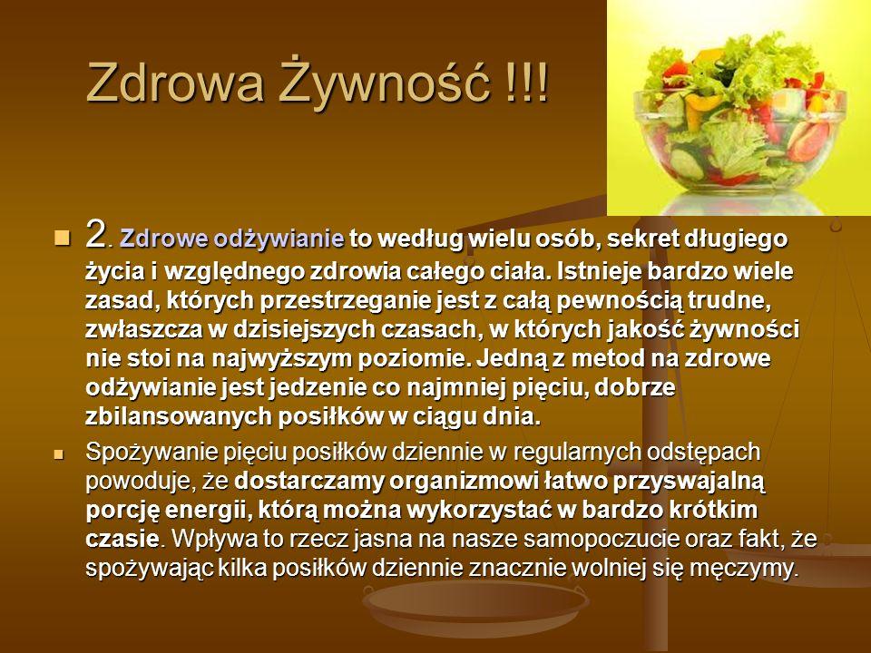 Zdrowa Żywność !!!