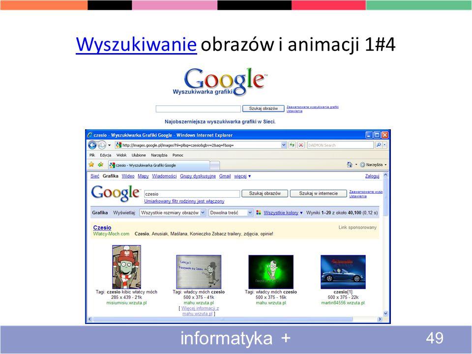 Wyszukiwanie obrazów i animacji 1#4
