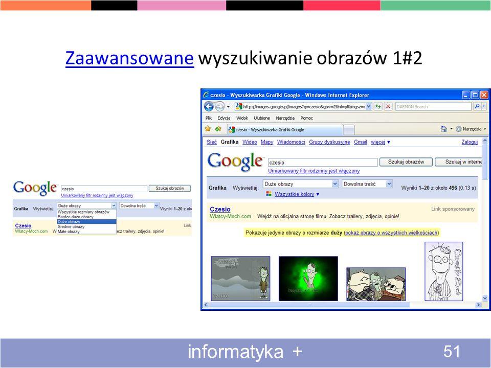 Zaawansowane wyszukiwanie obrazów 1#2