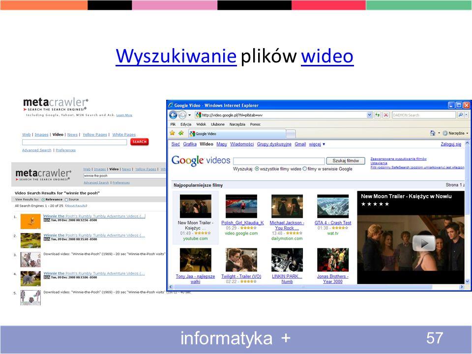 Wyszukiwanie plików wideo