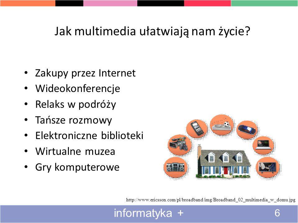 Jak multimedia ułatwiają nam życie