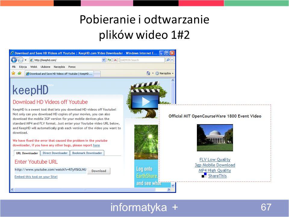Pobieranie i odtwarzanie plików wideo 1#2