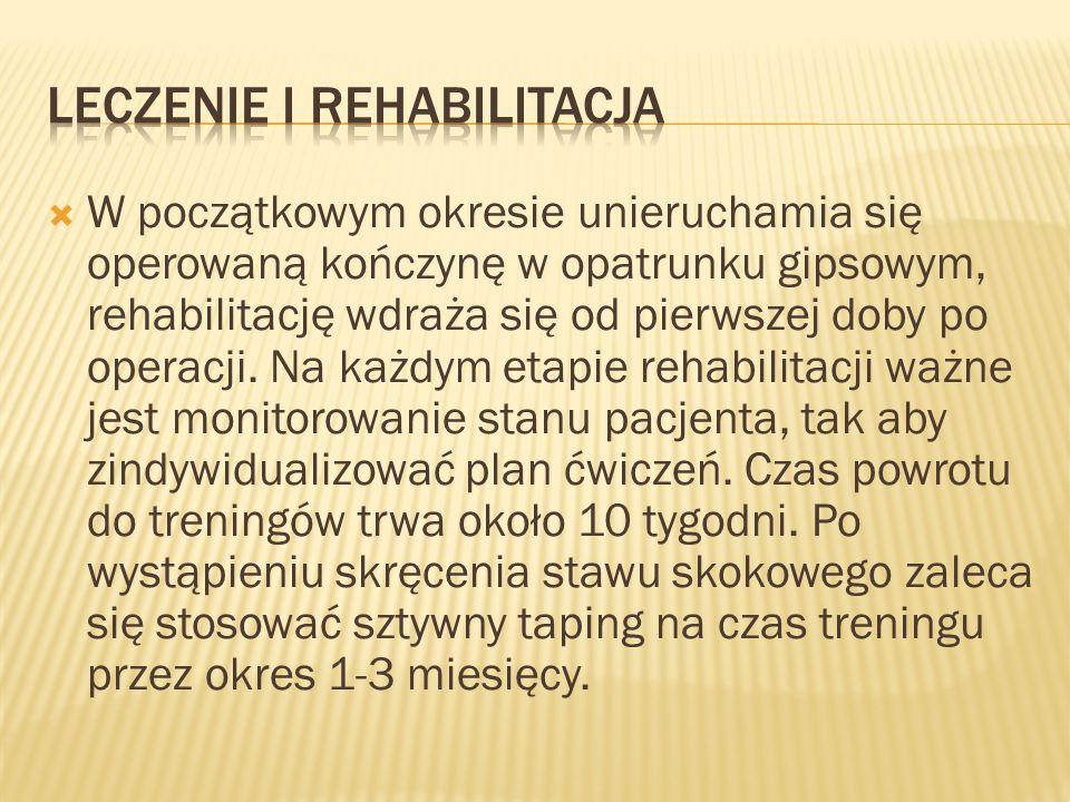 Leczenie i rehabilitacja