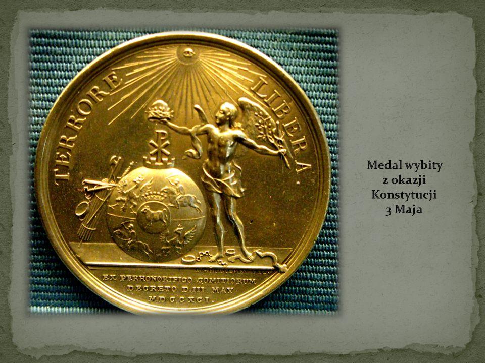 Medal wybity z okazji Konstytucji 3 Maja