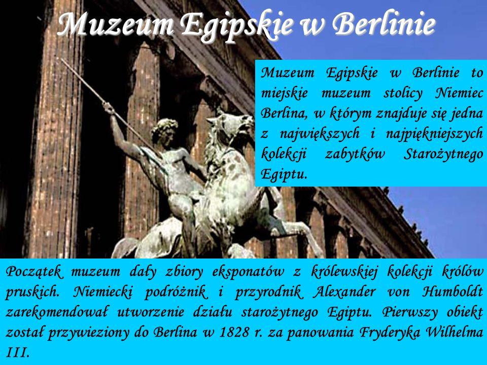 Muzeum Egipskie w Berlinie