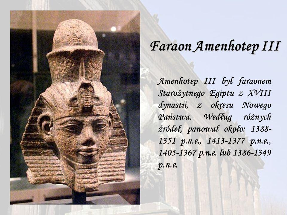 Faraon Amenhotep III