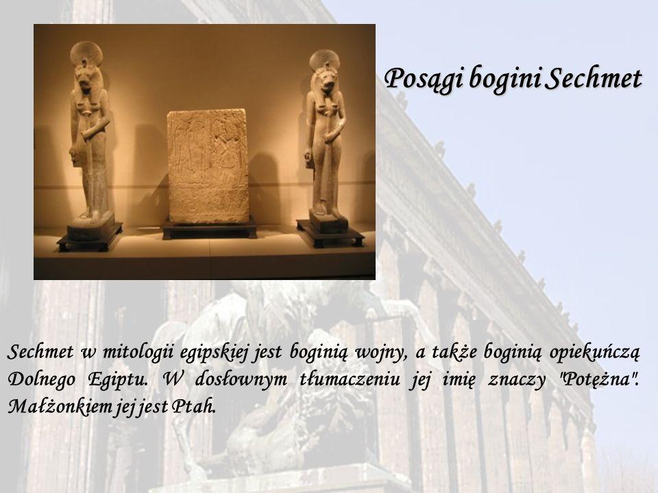 Posągi bogini Sechmet