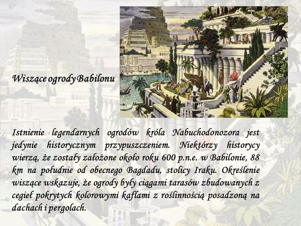 Wiszące ogrody Babilonu