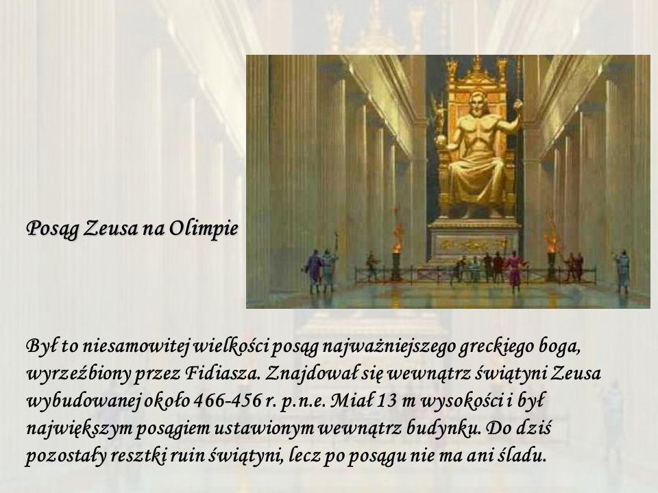 Posąg Zeusa na Olimpie