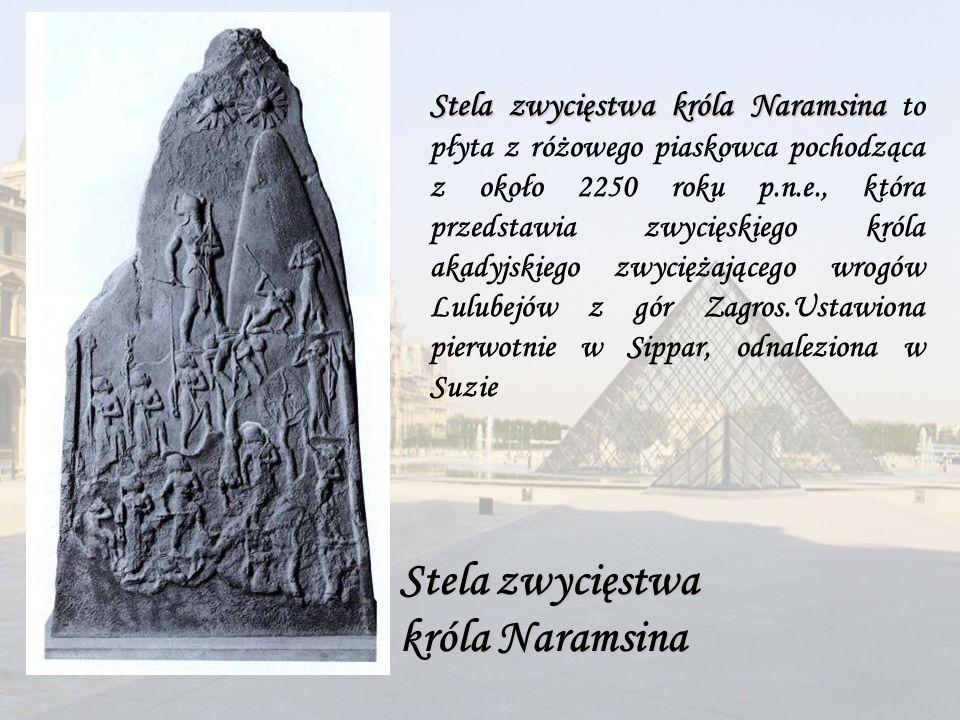Stela zwycięstwa króla Naramsina