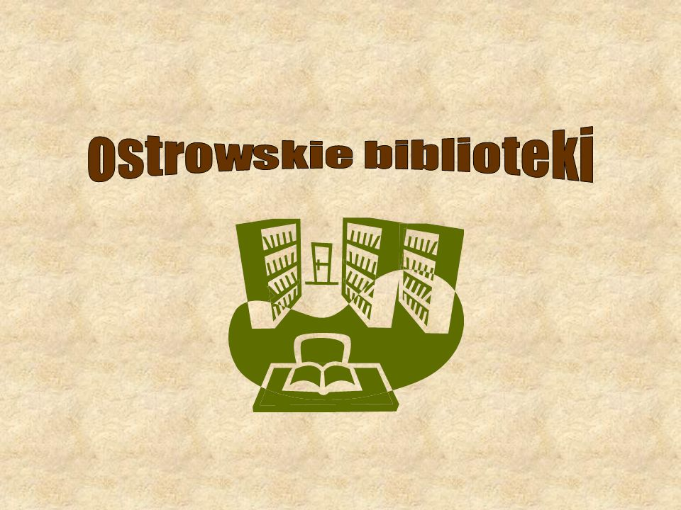 ostrowskie biblioteki
