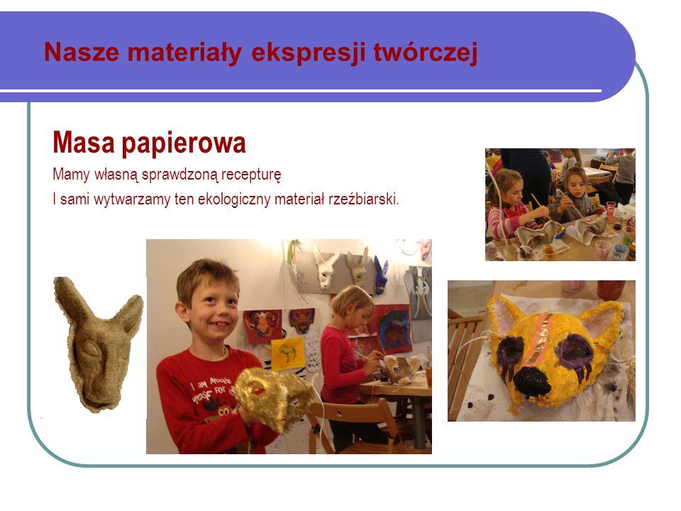 Nasze materiały ekspresji twórczej