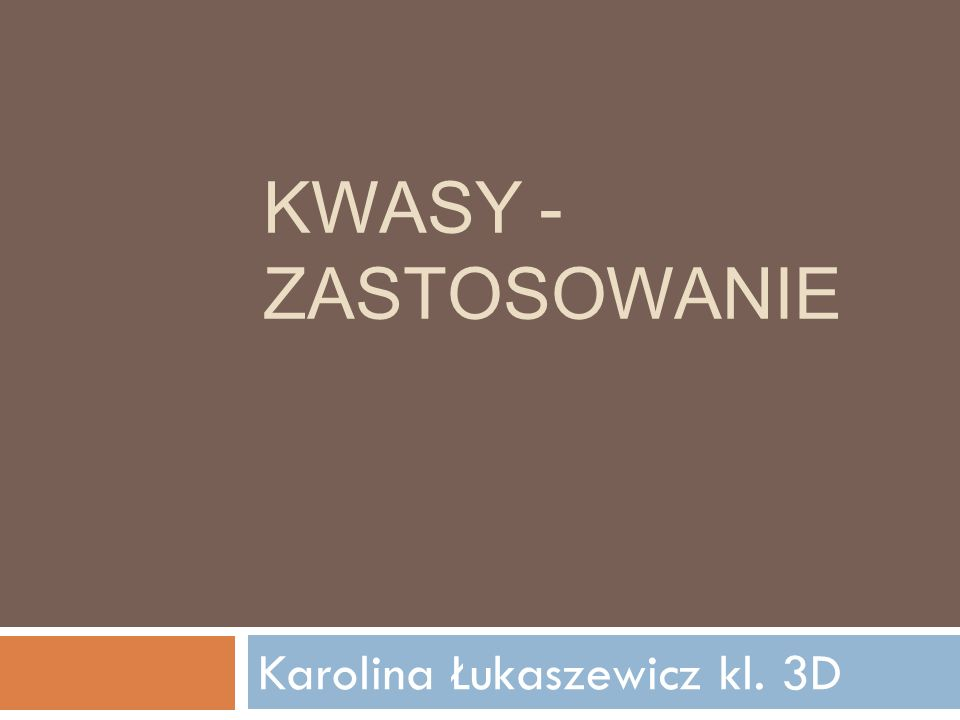 Karolina Łukaszewicz kl. 3D