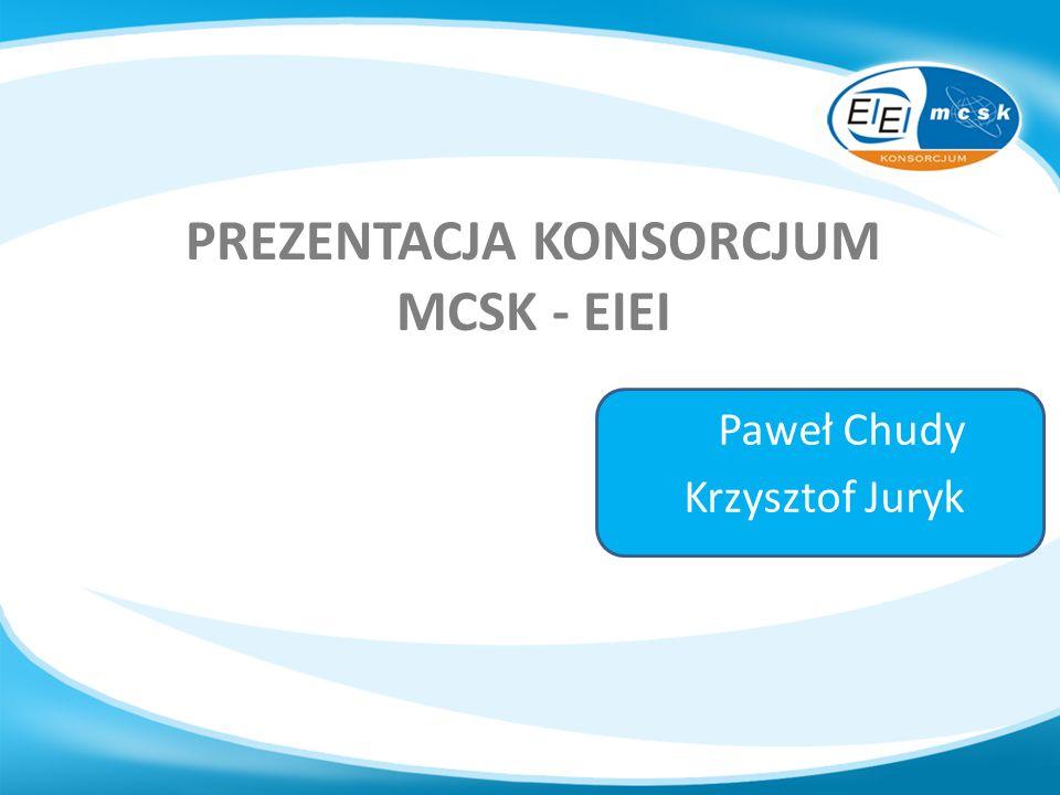 Prezentacja konsorcjum mcsk - eiei