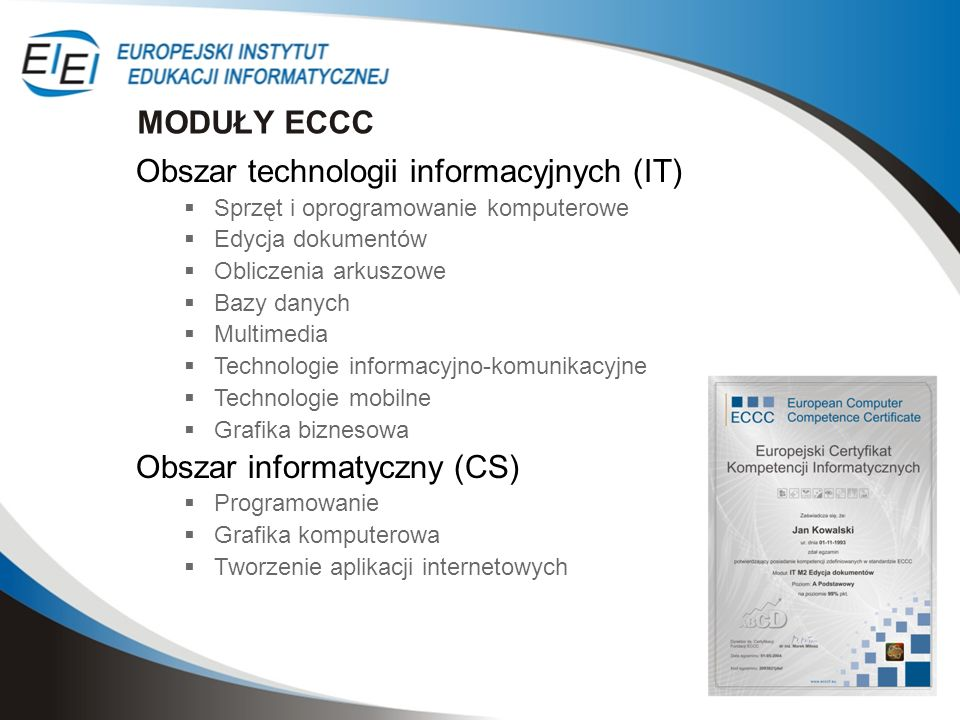Obszar technologii informacyjnych (IT)