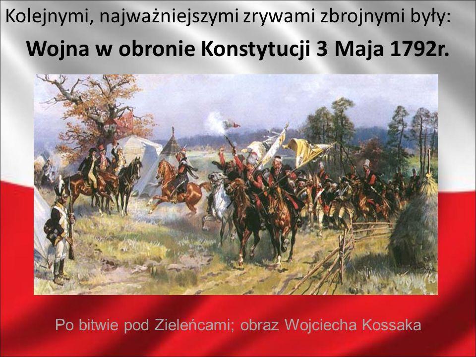 Wojna w obronie Konstytucji 3 Maja 1792r.