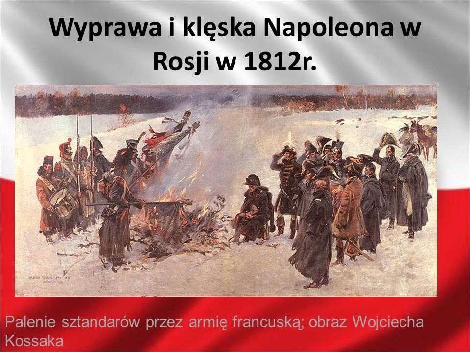 Wyprawa i klęska Napoleona w Rosji w 1812r.
