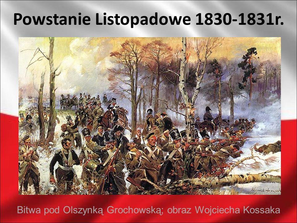 Powstanie Listopadowe 1830-1831r.