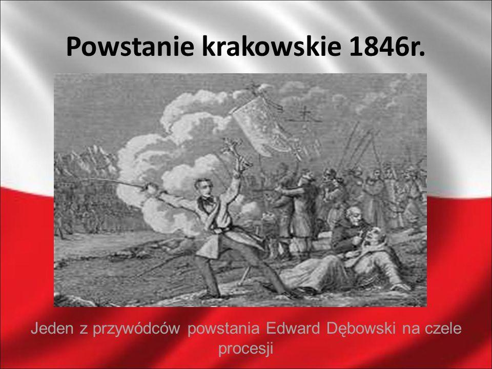 Powstanie krakowskie 1846r.