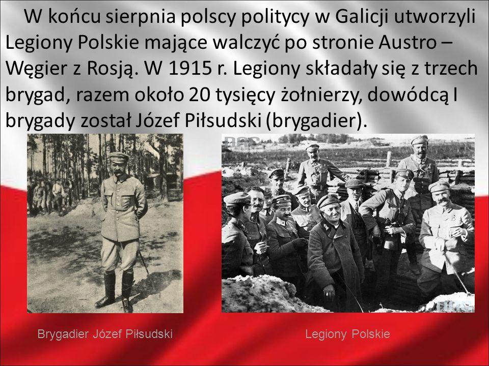Brygadier Józef Piłsudski