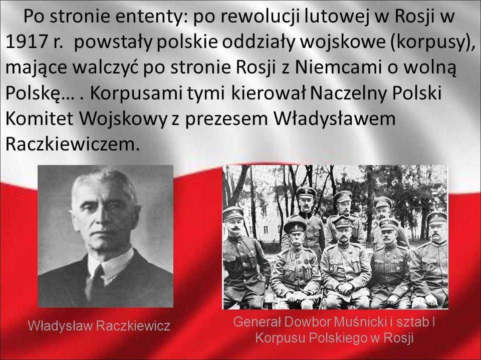 Po stronie ententy: po rewolucji lutowej w Rosji w 1917 r
