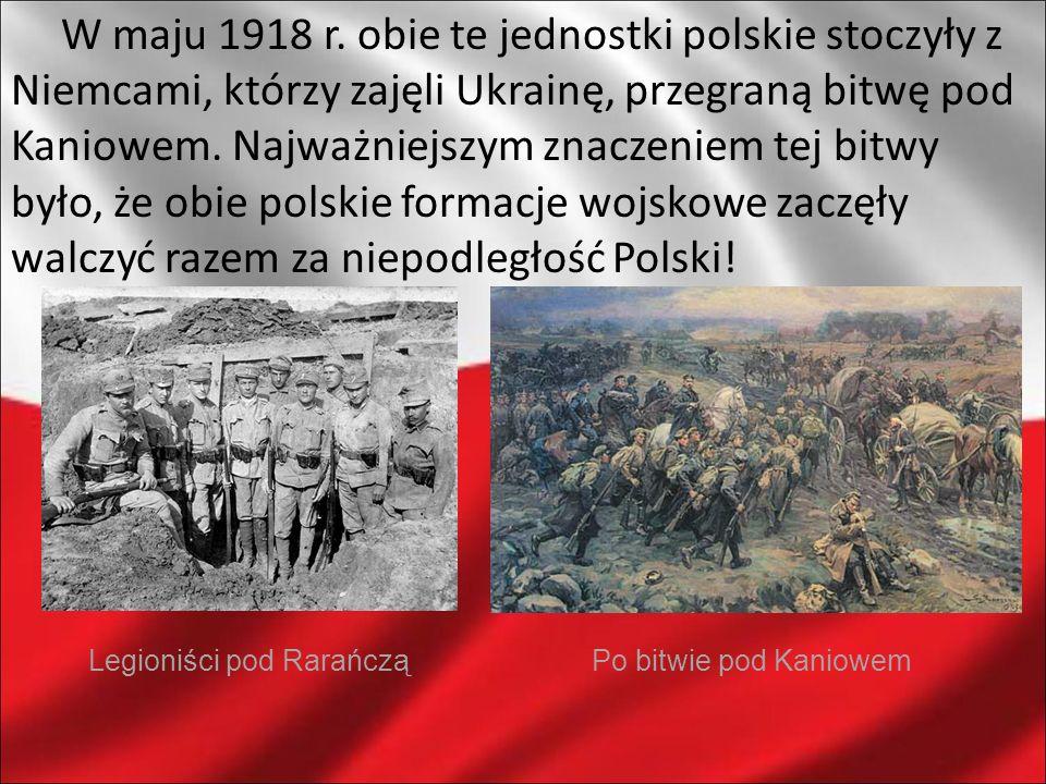 Legioniści pod Rarańczą