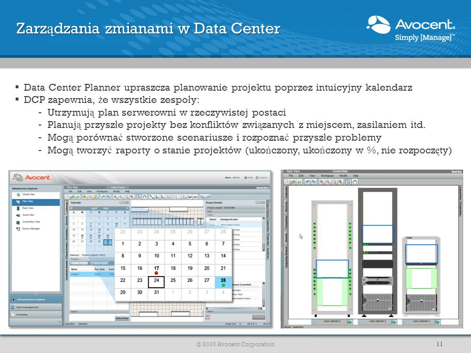 Zarządzania zmianami w Data Center