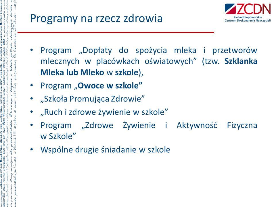 Programy na rzecz zdrowia